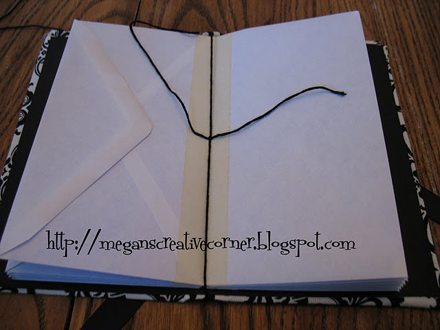 Make this envelope booklet- Use for budget, receipts, or allowances, etc...