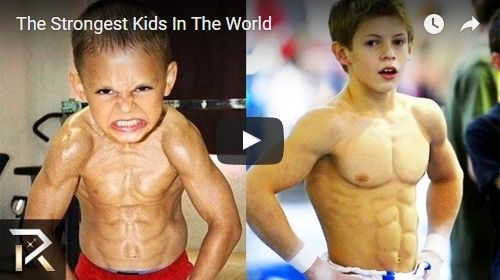 Beautifulplace4travel: The Strongest Kids In The World