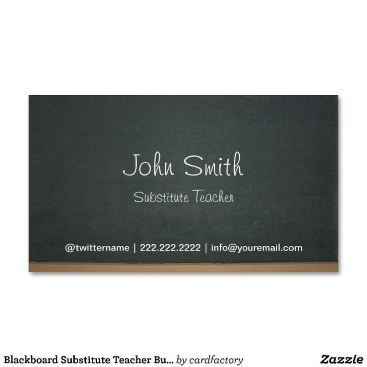 7 best Business Cards images on Pinterest | Cards, Teacher business ...