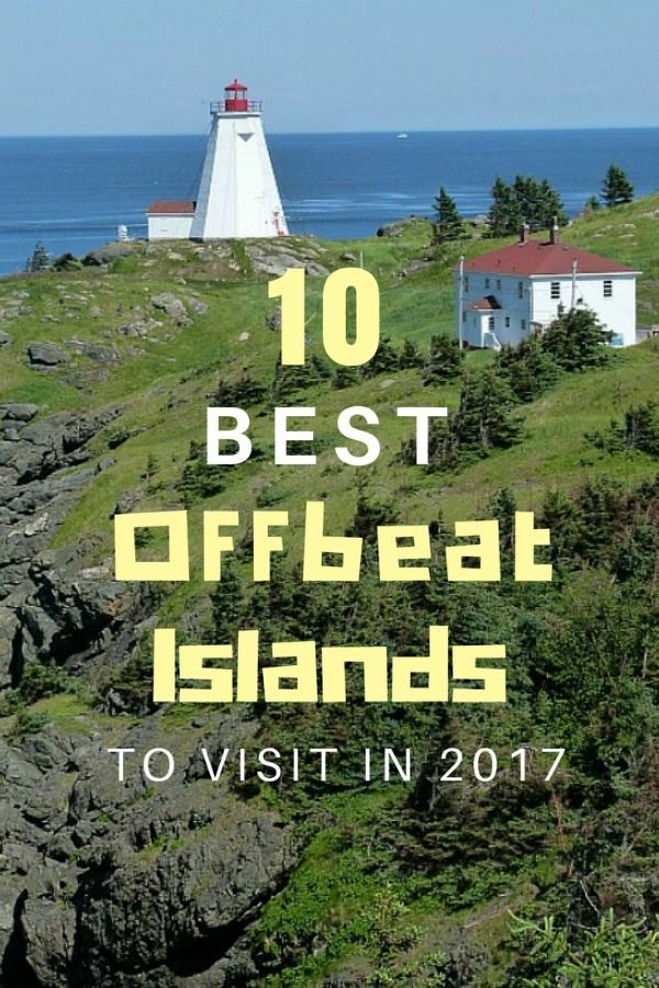My picks for the 10 Best Offbeat Islands around the world to visit in 2017 - or anytime! | The World on my Necklace