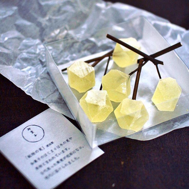 京都にしかない食べられる宝石。御菓子丸「鉱物の実」の美しさに魅入られる - macaroni
