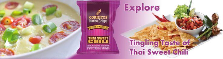 Explore Tingling taste of Thai Sweet Chili, Cornitos new flavor