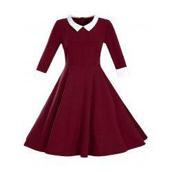 Plus Size Vintage Dress Fashion Shop Online   TwinkleDeals.com
