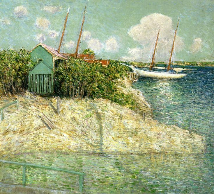 Julian Alden Weir - Nassau, Bahamas, 1913