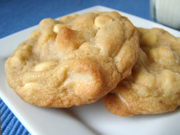 White Chocolate Chip Macadamia Nut Cookie.