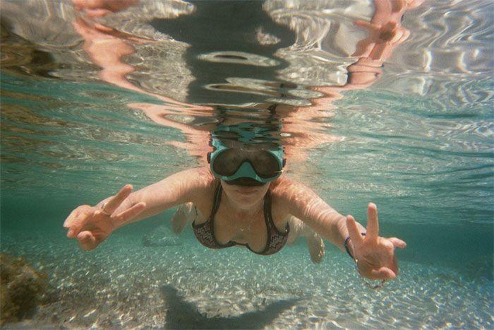 plongée masque