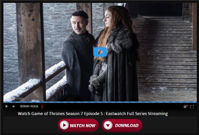 Game of thrones Temporada 7 online: Juego de tronos temporada 7 capitulo 5
