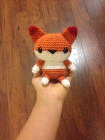 Patrón Amigurumi crochet little Fox
