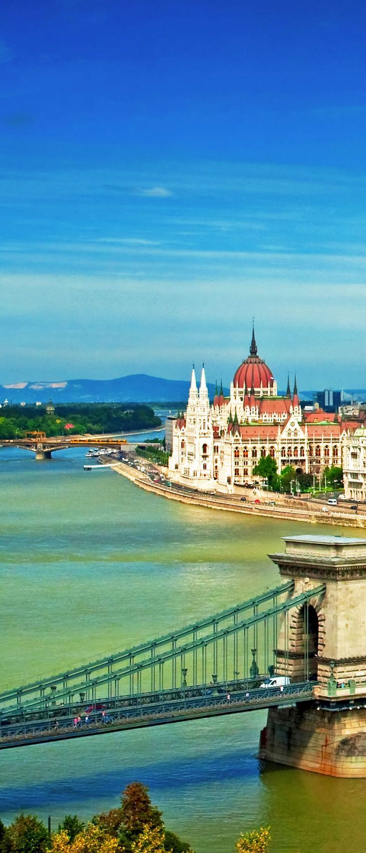 Nice view on Budapest, Hungary   Amazing Photography Of Cities and Famous Landmarks From Around The World