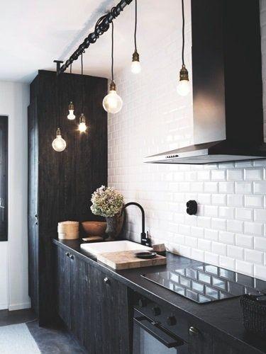 Creatieve keukenverlichting!