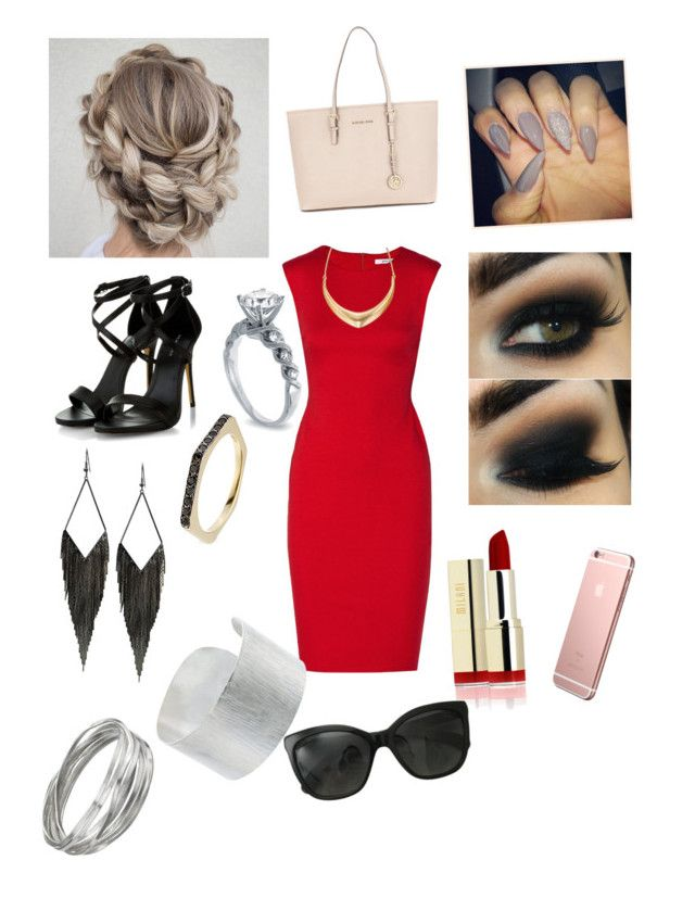 """Untitled #76"" by peaceout01-1 ❤ liked on Polyvore featuring Bailey 44, Michael Kors, Lipsy, Ileana Makri, GUESS, Jigsaw, Whistles and Chanel"