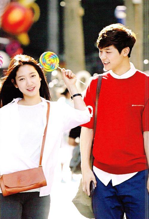 Park Shin Hye and Kang Min Hyuk....Heirs