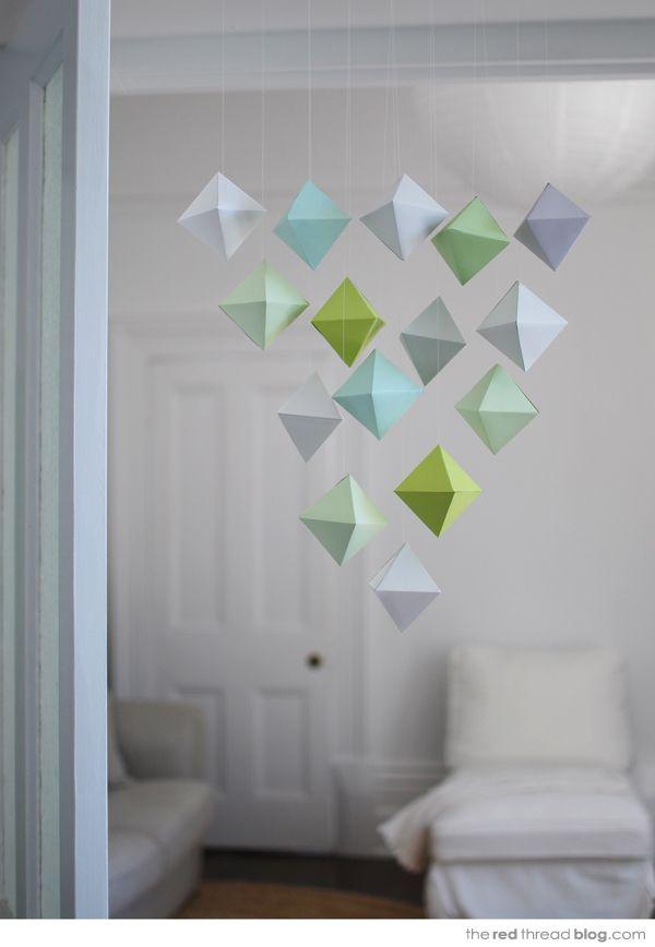 Paper geometric mobile tutorial