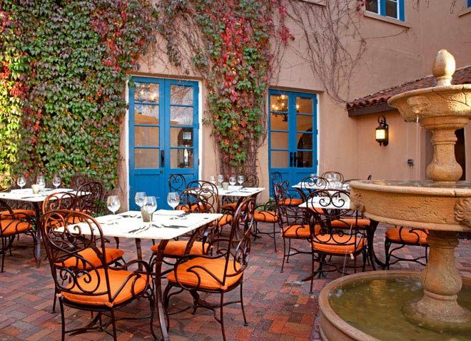 Restaurant Tabla At Hotel St. Francis, Santa Fe: New Mexico Resorts