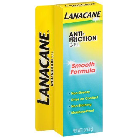 Lanacane Anti Chafing Gel, 1 Ounce, Multicolor