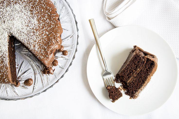 Gâteau au chocolat, café et Baileys