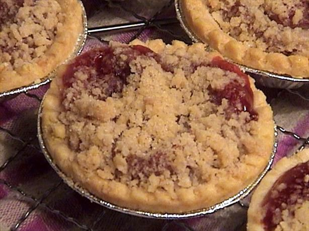 Streusel Topping. Photo by Lori Mama. equal parts flour sugar and a little water with the butter.
