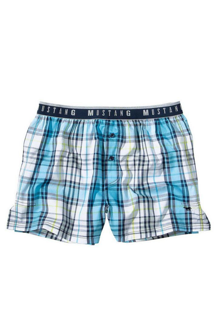 Pánske pyžamové šortky 5523_1600_526 modrá - Muži