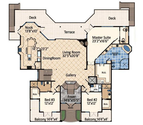Luxury House Plans Designs: 91 Best Coastal House Plans Images On Pinterest