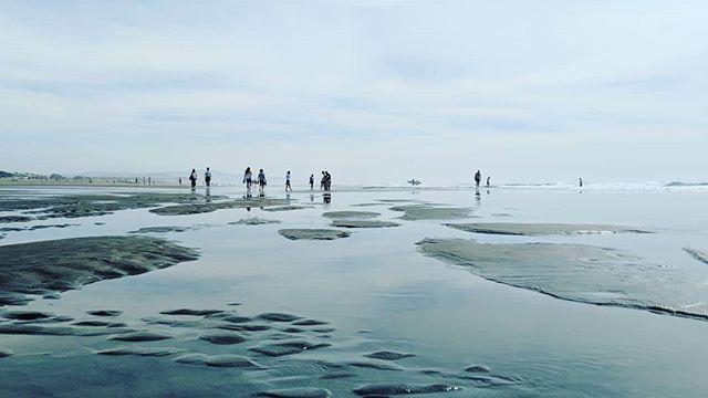 Mirage on the beach  . . . #beach #walk #mirage #ocean #pacific #sky #SanFrancisco #people