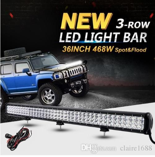 New products 837 pinterest 6d 3 row 36inch 468w led light bar offroad cree chips combo beam led work light bar 12v 24v truck suv 4wd pickup led bar mozeypictures Choice Image