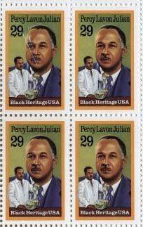 Percy Lavon Julian Black Heritage 4 x 29 cent US Postage Stamps Scot #2746 . $3.75. Percy Lavon Julian Black Heritage 4 x 29 cent US Postage Stamps Scot #2746