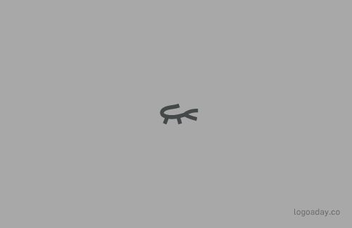 Lacoste | Famous Brands Shown As Minimalistic Logos