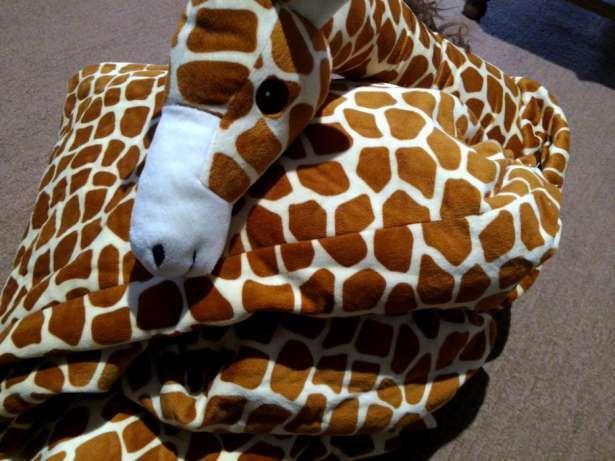 Новый мягкий сплошной взрослый новогодний, карнавальный костюм Жирафа Сарны - изображение 1