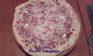 Kovex konyhája, avagy nagyanyáink receptjei egy kicsit máskép: Pizza pompos