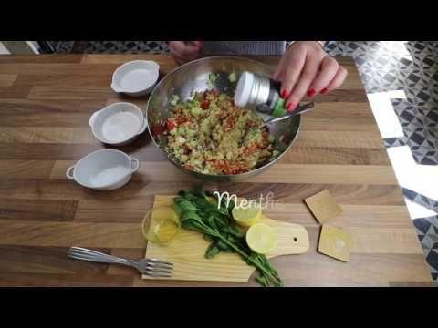 Taboulet à la menthe - YouTube