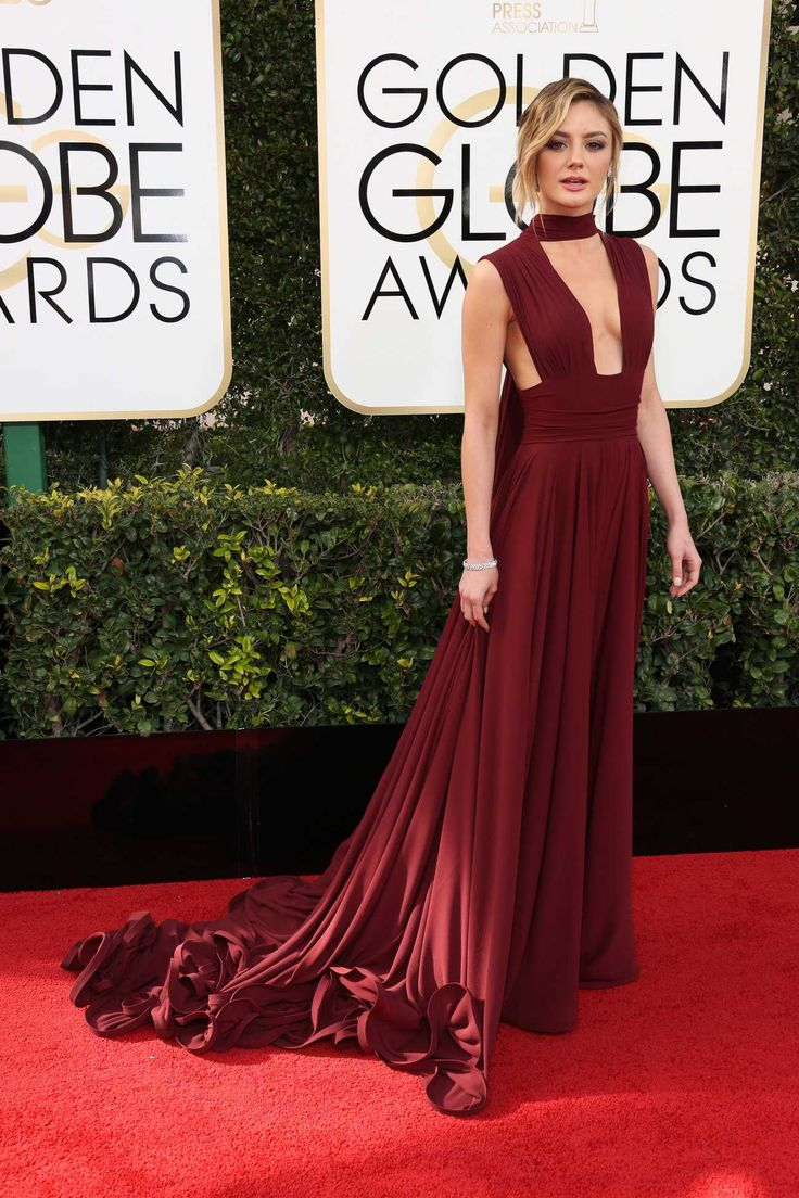 Christine Evangelista - 74th Annual Golden Globe Awards on Jan 8