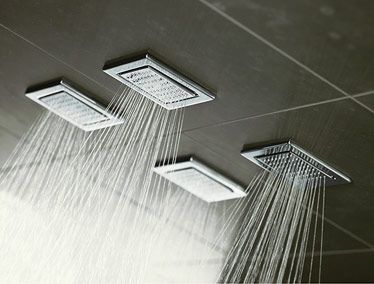 Rain at a snap )): Rain Shower, Dreams Houses, Bathroom Dreams, Shower Head, Awesome Shower, Body Sprays, Tile Shower, Master Bathroom, Dreams Shower