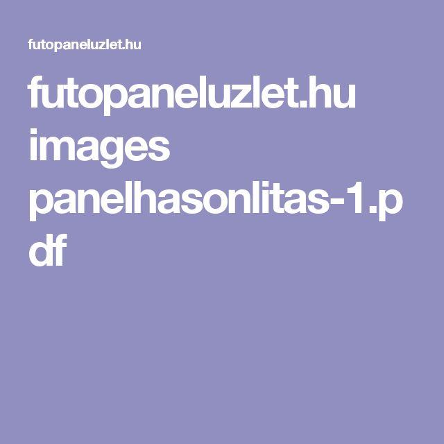 futopaneluzlet.hu images panelhasonlitas-1.pdf