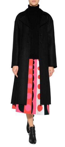 Ein+Mix+aus+eleganter+Wolle+und+streichelzarter+Angorawolle+verleiht+dem+Doubleface-Mantel+von+Valentino+ein+sophisticated+Finish+#Stylebop