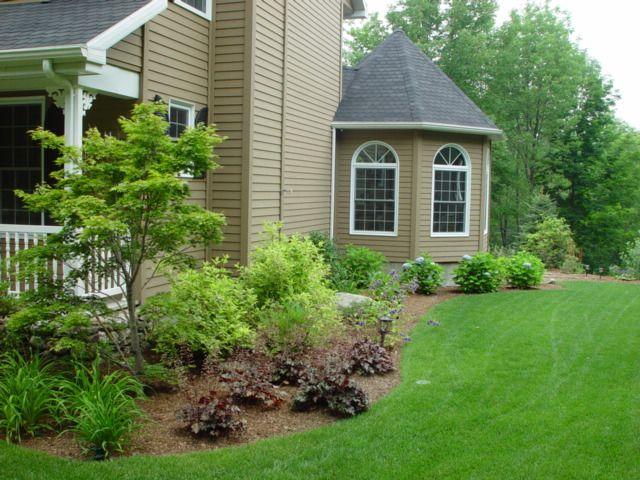 Landscaping Ideas Front Yard Corner Block : Yard landscaping plants ideas backyard