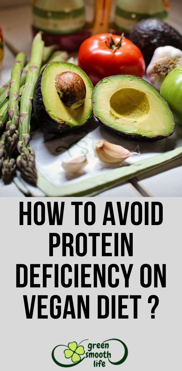 protein deficiency in vegan diet
