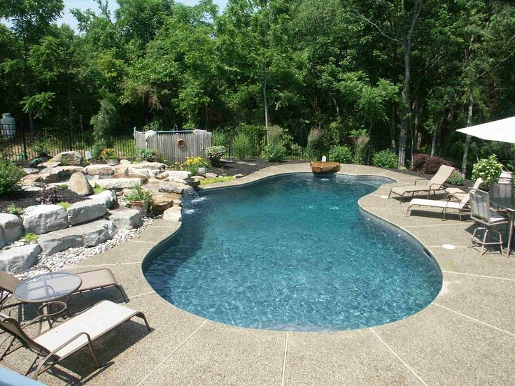 Free Form Swimming Pool Designs Extraordinary Design Review