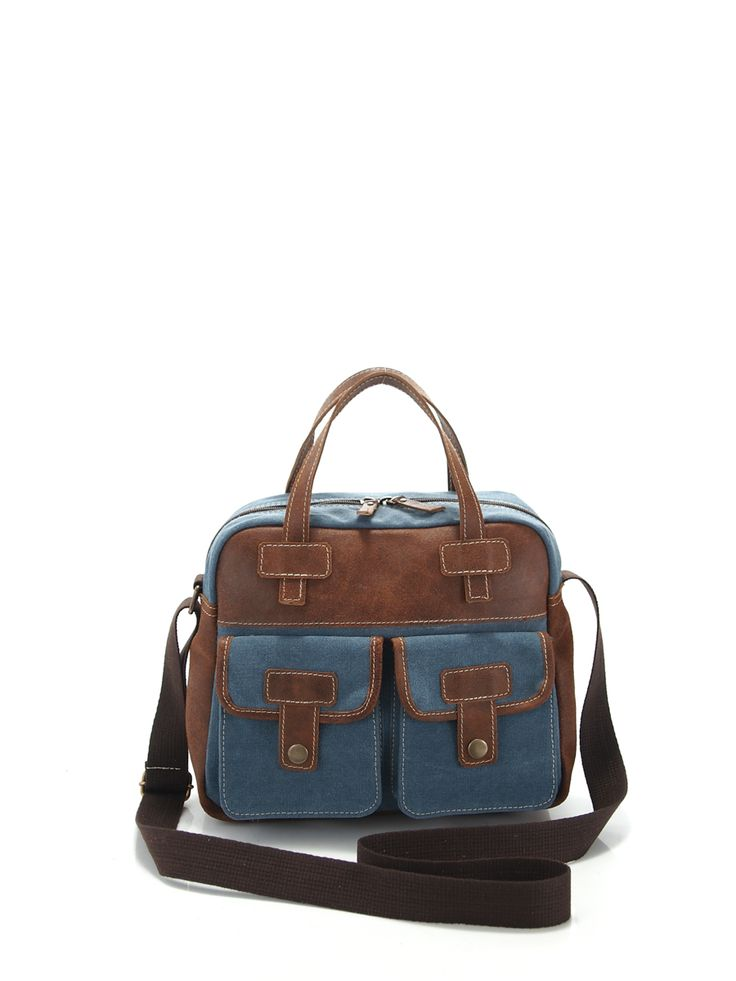 Ref.  Urban, leather+fabric, color canela