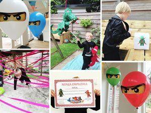 verjaardag, jarig, partijtje, thema, ninja, ninjago, lego, kind, peuter, kleuter, jongen, meisje, idee, tips, feestje, verjaardagspartijtje, thuis, spelletjes, programma, tattoo, draken, ezeltje prik, printables, versiering, ballonnen, borden, bekers, draak, pinata, vouwen, spel, eetstokjes, stokjes, eten, bouwen