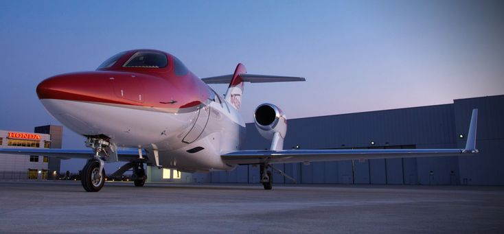 HondaJet Design Engine Mount, Fuselage, and Turbofan Jet