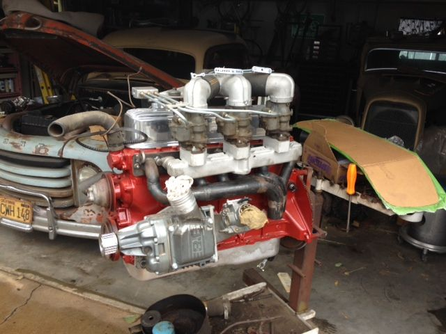 Fordsix Performance View Topic Blown Ford 223 Engine Project