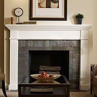 fireplace mantel kits fireplace mantels the home depot