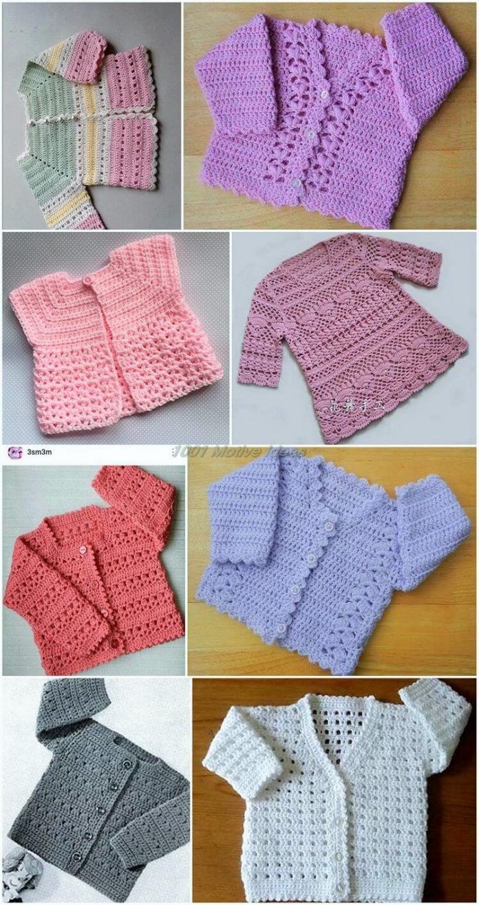 Ideas For How To Make Crochet Baby Dresses Baby Crochet Patterns