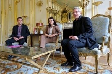 Cécile Duflot rencontre la Fondation Abbé Pierre