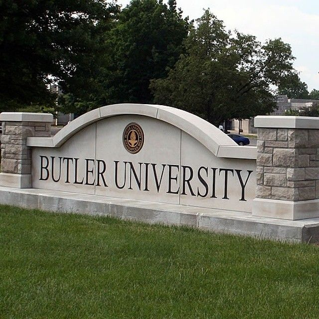 At Butler University in 1922....