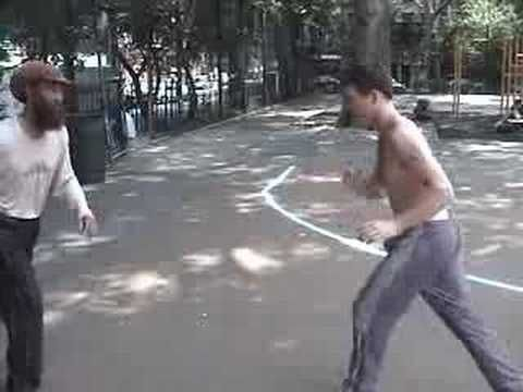 Martial Street Art: Capoeira Street Fighting