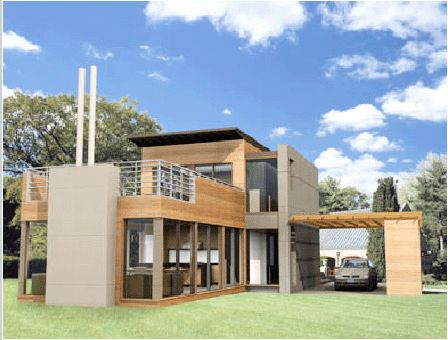 17 images about contemporary modular prefab haus on for Modern prefab homes mn
