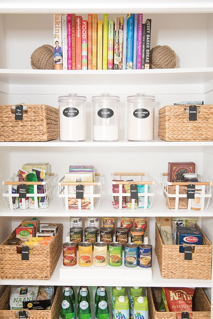 The 5 Key Elements Of A Well Organized Pantry Pantry Design