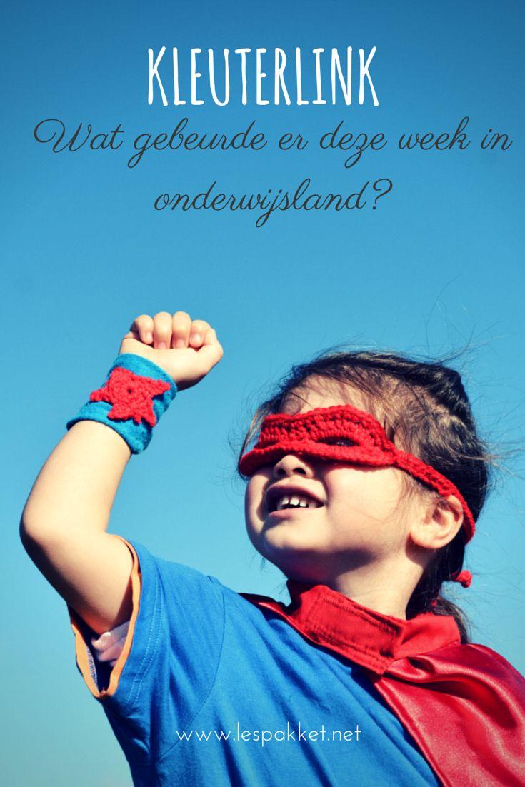 kleuterlink week 2 - wekelijkse links voor kleuterleerkrachten. Zo blijf je op de hoogte van wat er gebeurt in onderwijsland!