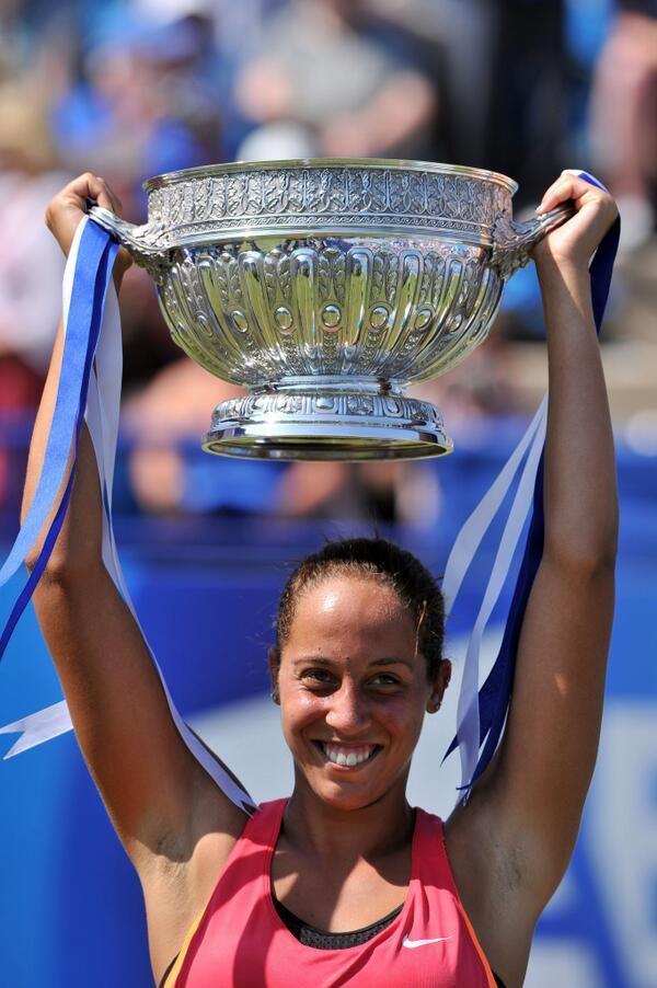 American Madison Keys wins Eastbourne.